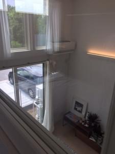 中2階寝室からの眺めで