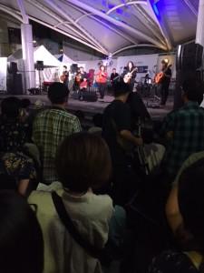 仙台ジャズフェスラストステージの様子